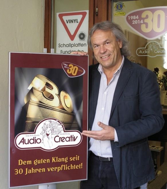Steht für über 30 Jahre Erfahrung in der Beratung um highfidelen Musikgenuss: Max Krieger