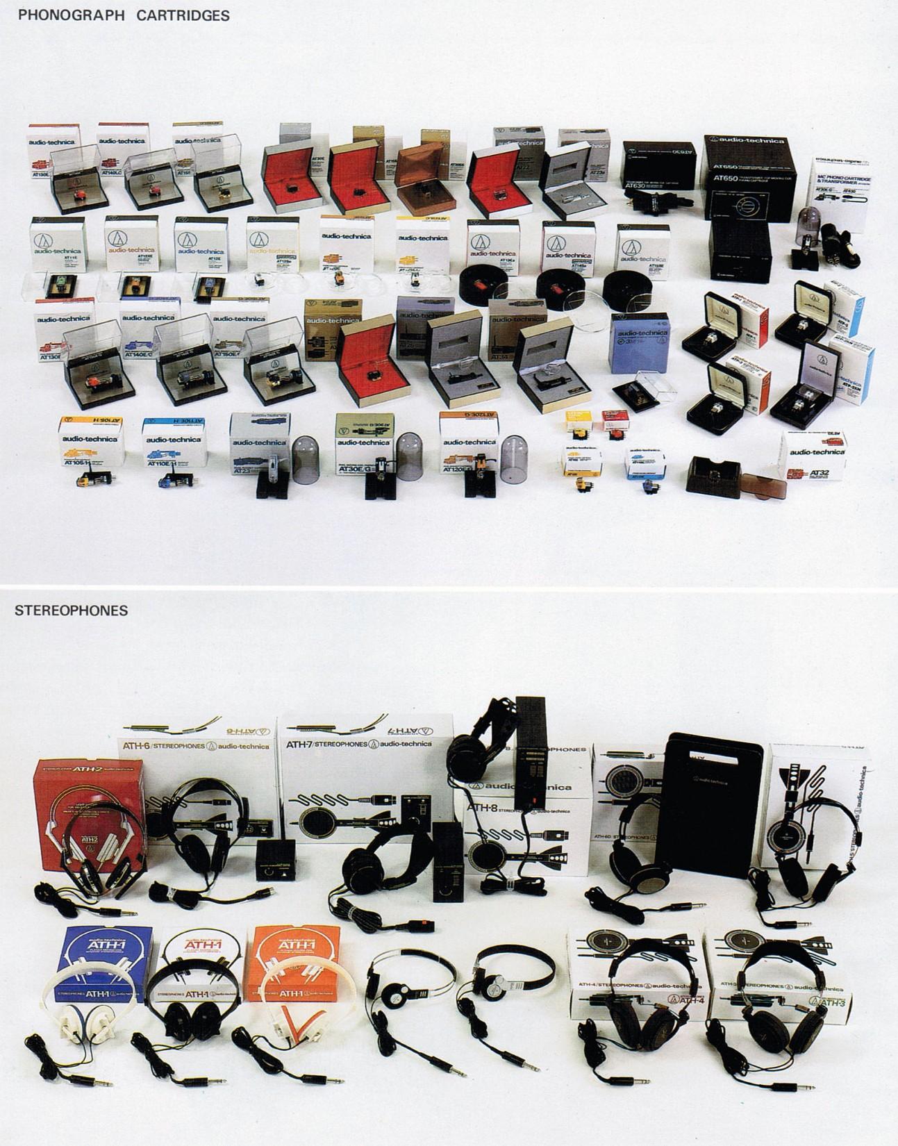Audio-Technica Hifi Programm 1980