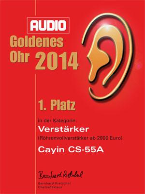 Cayin-Goldenes Ohr-1