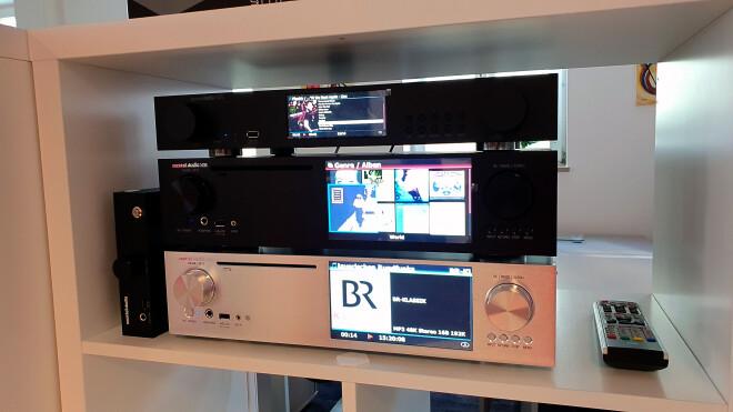 Cocktail Audio N25, X35 und X45, links daneben der N15D