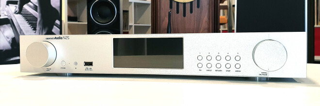 Cocktail Audio N25 silber