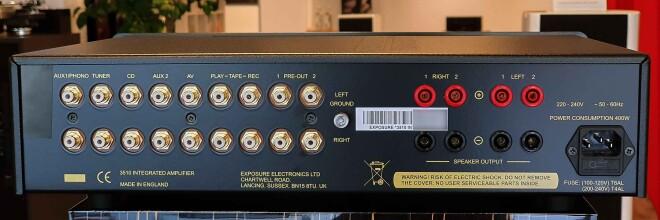 Exposure 3510 Integrated schwarz