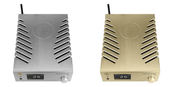 Gold Note DS-10 Plus Silber und Gold