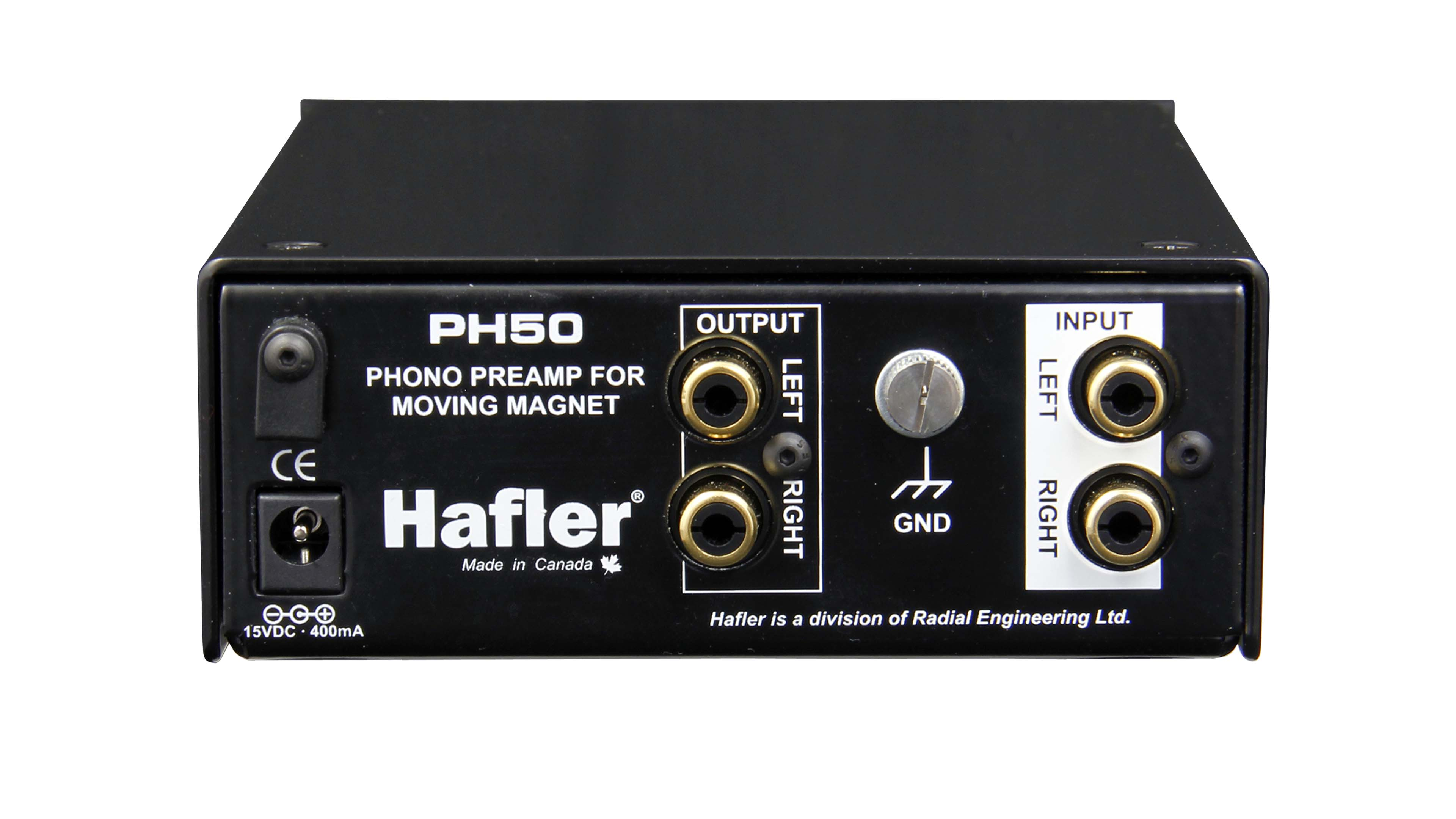 Hafler Audio Creativ Preamplifier Input From Moving Coil Head Ph50