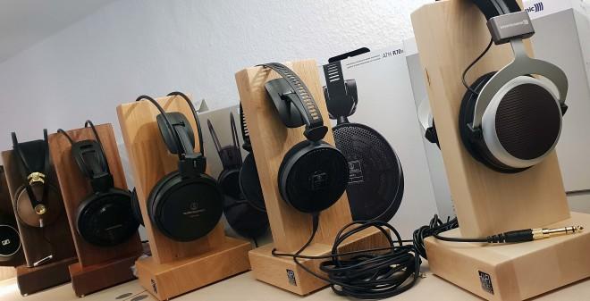 HiFi-Racks Kopfhörerständer