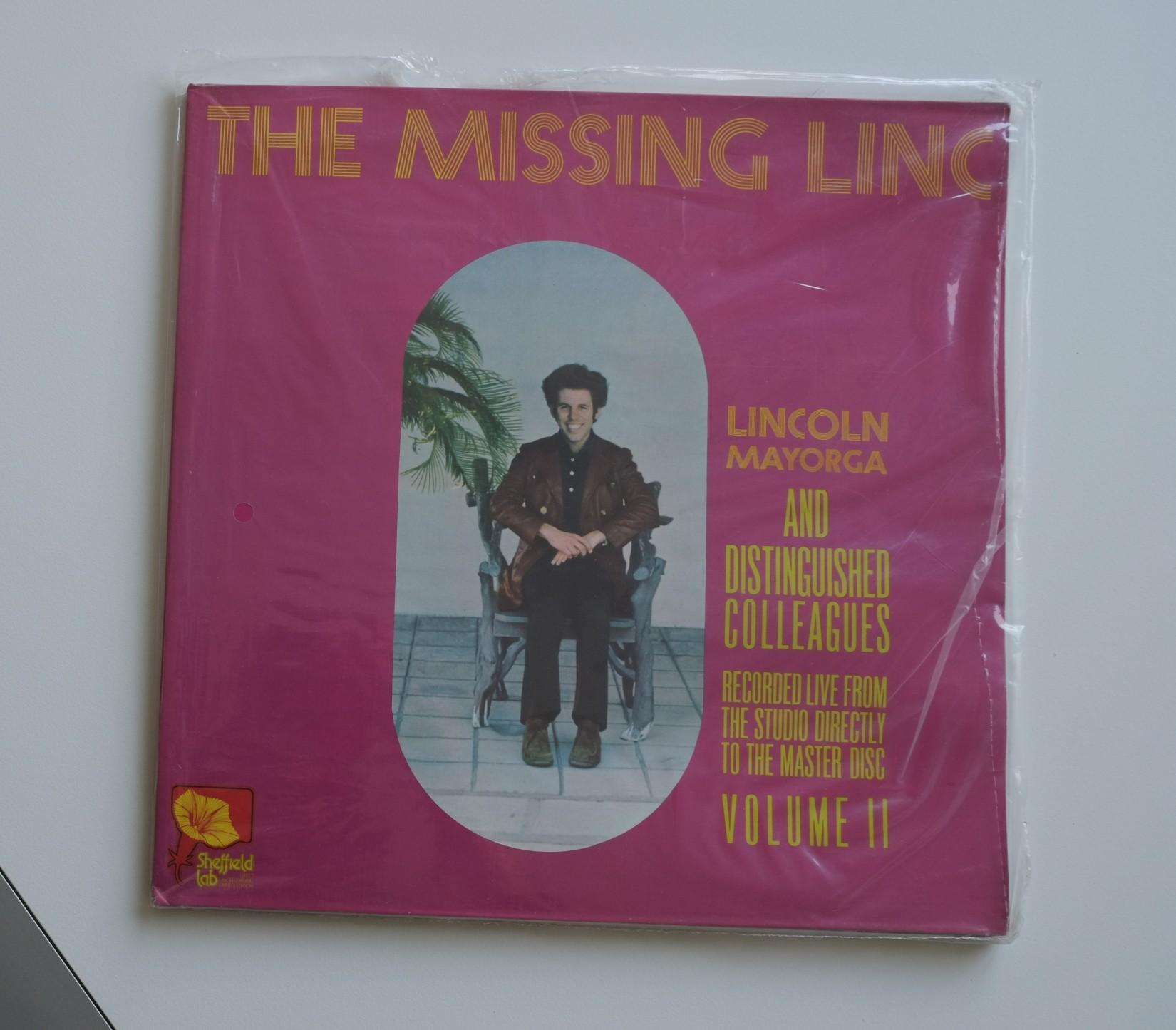 LP-Lincoln Mayorga - The Missing Linc-1