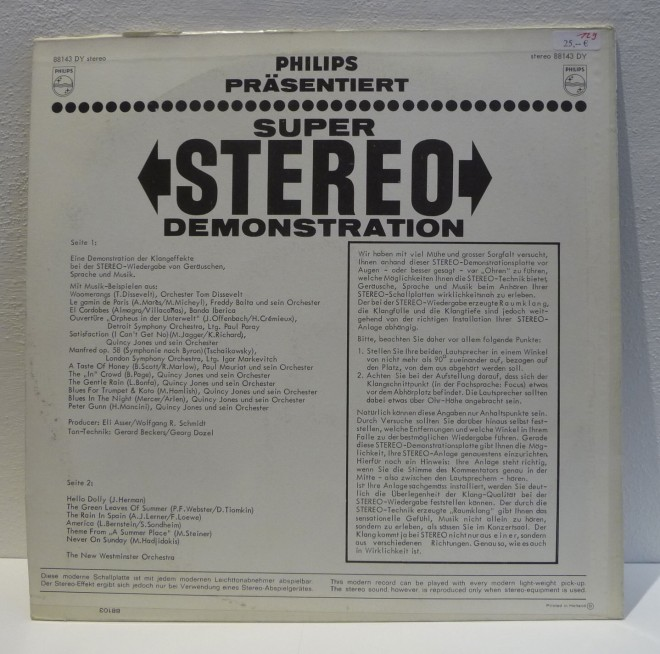 LP-Philips presents Super-Stereo-Demonstration-2
