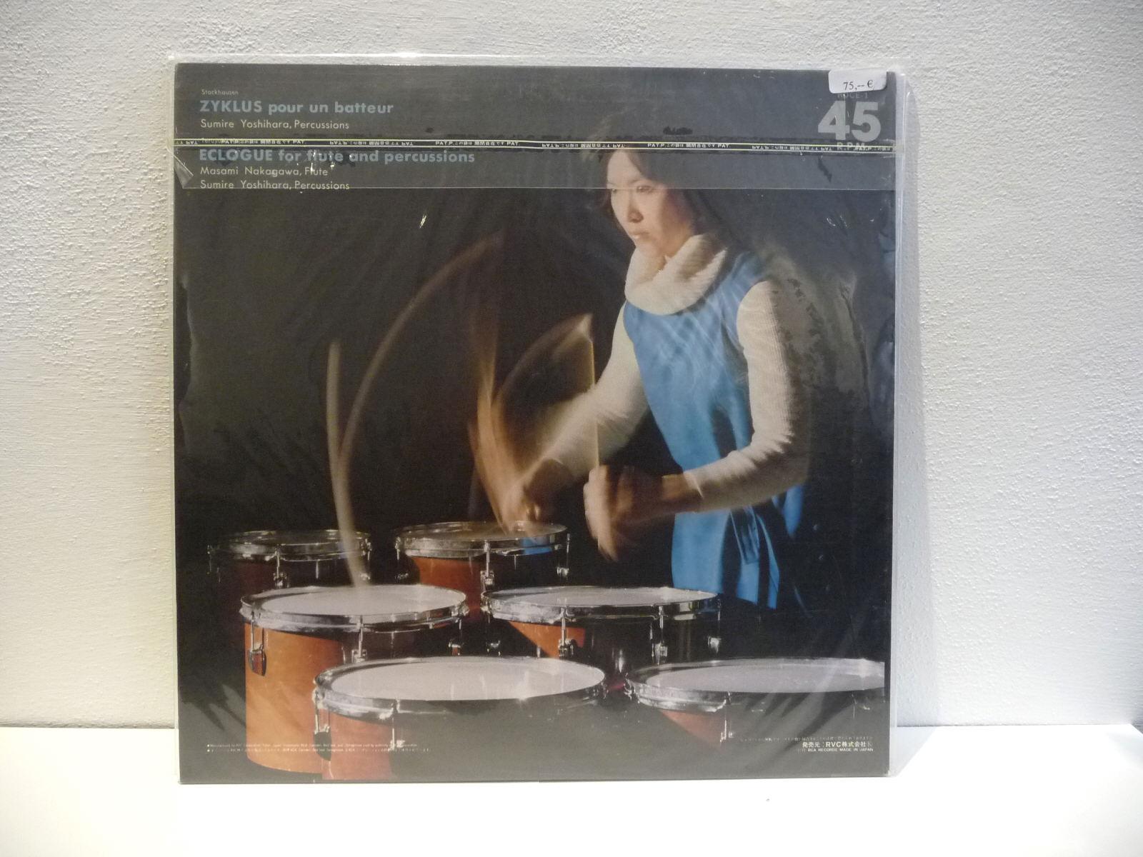 LP-Zyklus pour un batteur-Stockhausen-45rpm-2