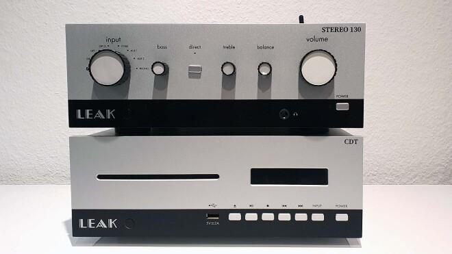 Leak Stereo 130 und CDT in Silber
