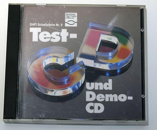 DHFI Schallplattee Nr. 9 Test- und Demo-CD