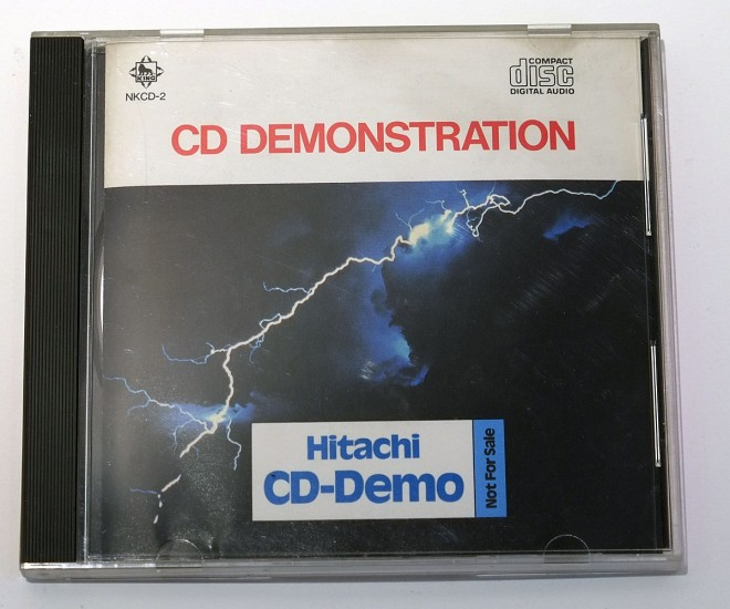 Hitachi CD Demonstration