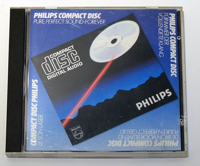 the Pure Perfect Sound of Philips Compact Disc - 2
