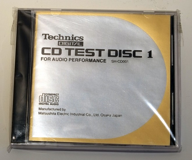 Technics CD Test Disc 1