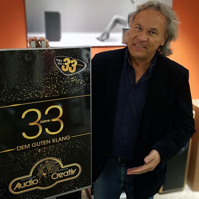 Max Krieger - 33 Jahre Audio Creativ