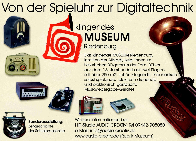 Museum Werbung Anzeige -1