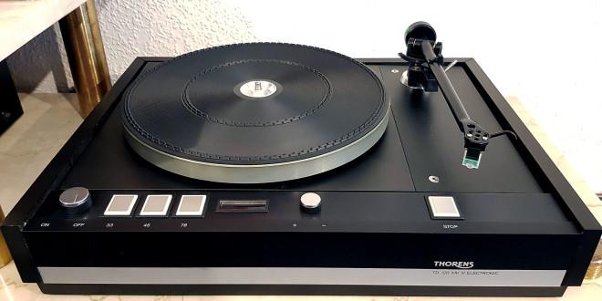 Thorens TD126 Mk III Electronic mit Rega RB250