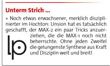 Unison-Max-2-LP-Test-1