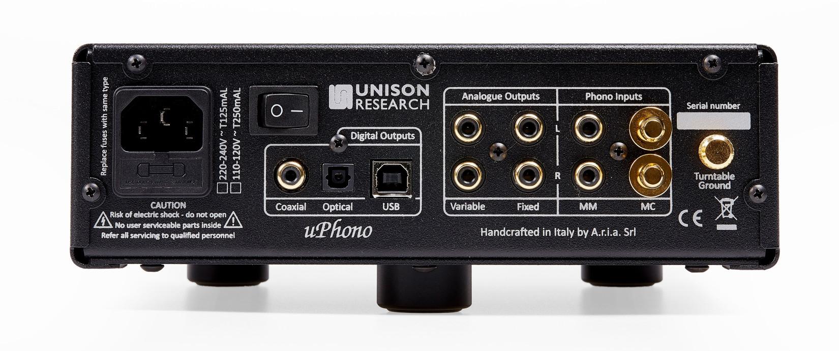Unison uPhono-Rear-1