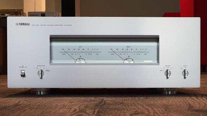 Yamaha M-5000 silber