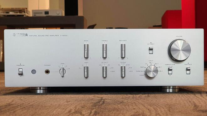 Yamaha C-5000 silber